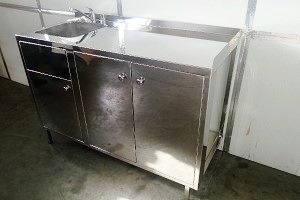 Cabinet with a built-in sink 900n600n950mm